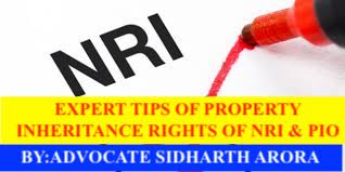 Can an NRI inherit property in India