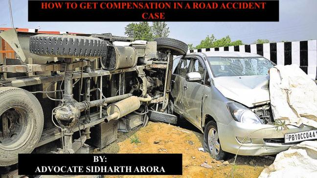 compensation in road accident case from MACT