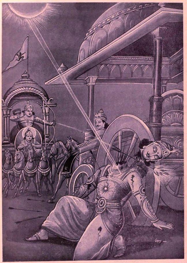 arguments-krishna-arjuna-mahabharat-karna